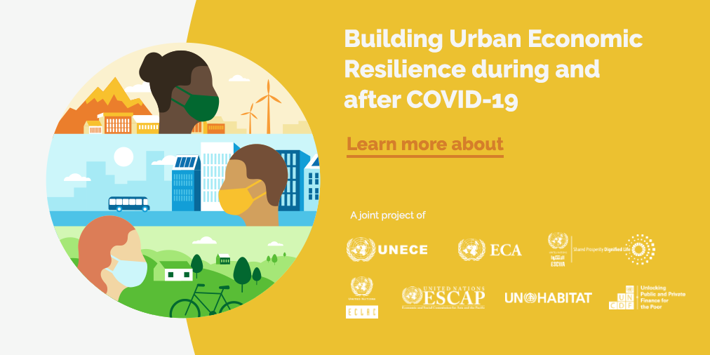 Building Urban Economic Resilience during and after COVID-19